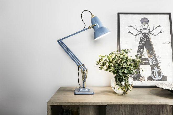Anglepoise Original 1227 Brass Messing Kollektion Tischleuchte