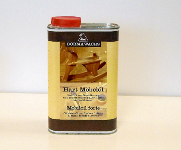 Hartmöbelöl als Versiegelung speziell für Möbel