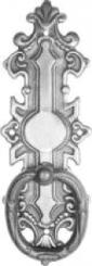 Möbelbeschlag Messing 38x116 mm