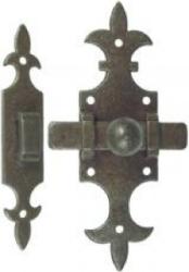 Türriegel Eisen Antik 40x140 mm