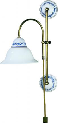 keramikleuchte-wandleuchte-geschwungen-weiss-mit-blauer-verzierung-wandabstand-20-cm