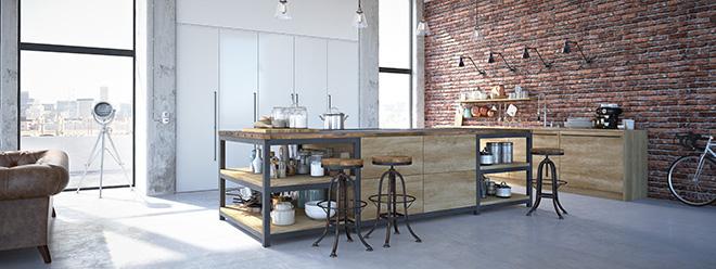 Loft Küche
