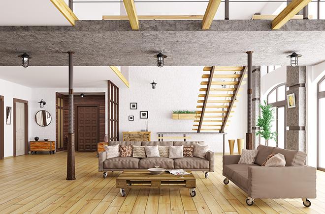 das loft ihrer tr ume einrichten kreutz landhaus magazin. Black Bedroom Furniture Sets. Home Design Ideas