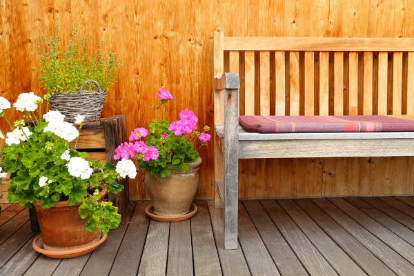 Idee landhaus terrasse for Scha ne wohnzimmer ideen
