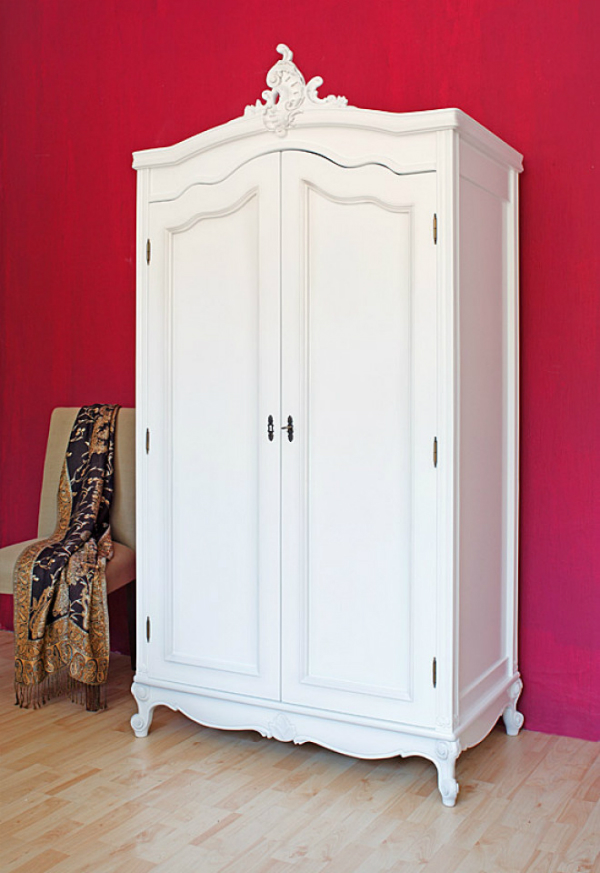 Kleiderschrank weiß barock  Prunkvolle Barockmöbel - Kreutz Landhaus Magazin