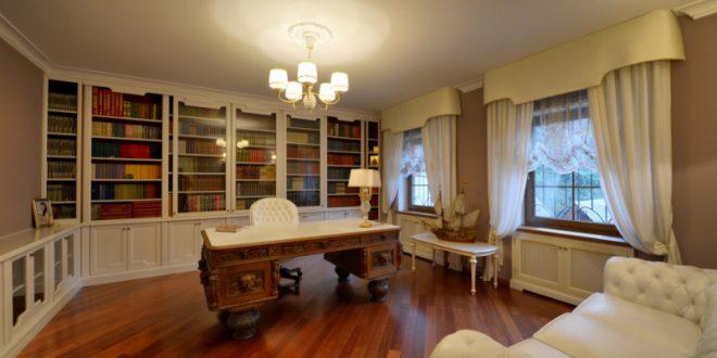 heimbibliothek kreutz landhaus magazin. Black Bedroom Furniture Sets. Home Design Ideas