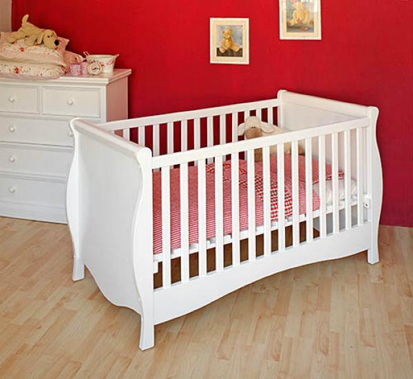 Babybett JANIS Farbe Weiss