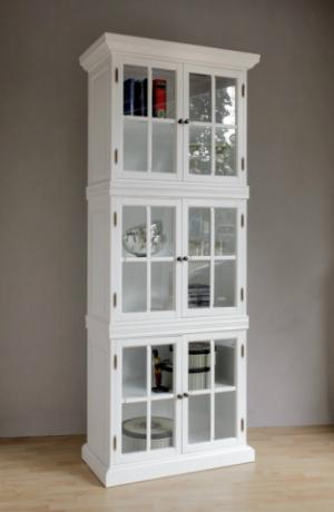 CLEVELAND 80 cm Bücherschrank Vitrin