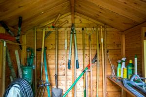 Nur ein Lagerschuppen? Machen Sie mehr aus Ihrem Gartenhaus!
