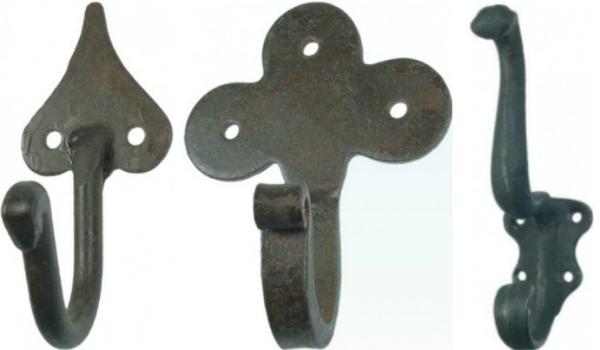 Garderobenhaken aus Eisen