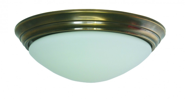 Deckenleuchte - Glasschirm matt-weiß