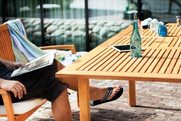 Gartentisch ausziehbar Robinie Verno