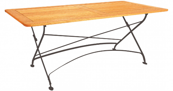 Gartentisch mit Rahmen Robinie Maja