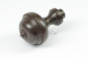 Tuerknopf Eisen antik Grundplatte 30 mm