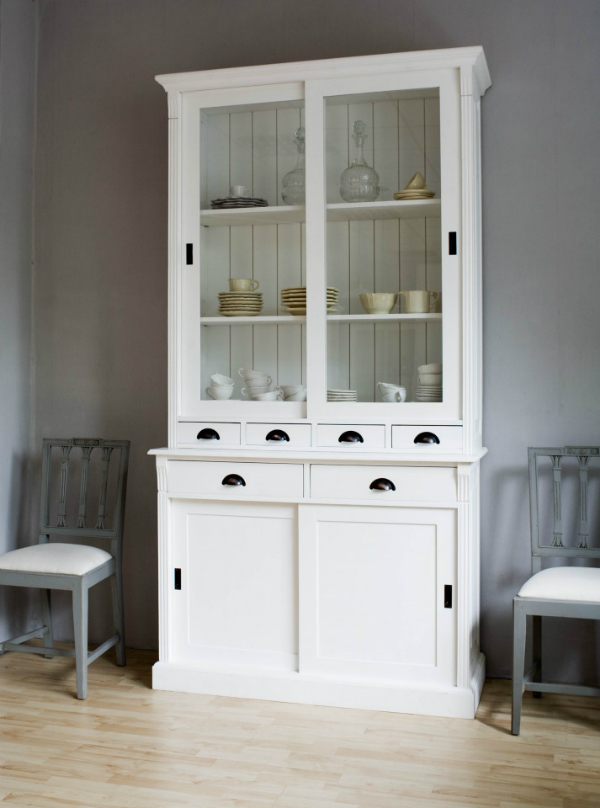 Küchenschrank im landhausstil kreutz landhaus magazin