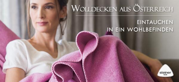 Wolldecken aus Oesterreich