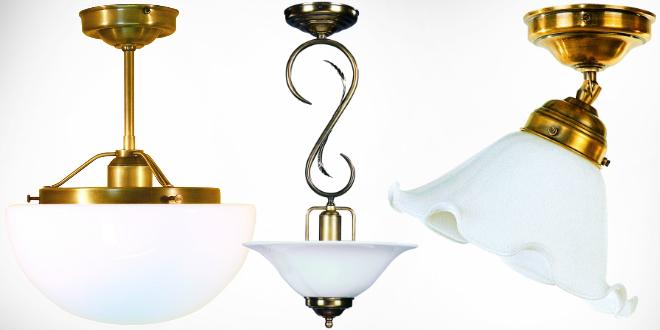 Antike Deckenlampen im Jugendstil - Kreutz Landhaus Magazin