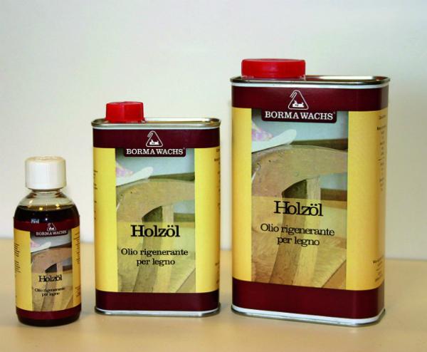 Holzoel pflegt alle rohen Holzoberflaechen