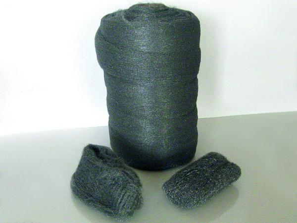 Stahlwolle 200 Gramm zum Aufrauen von Holz Grad 1