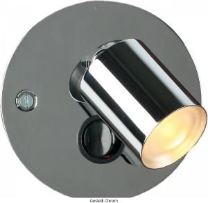 LED Wandleuchte Gestell Chrom LD_0018-90