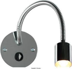 LED Wandleuchte Gestell Chrom LD_0019-90