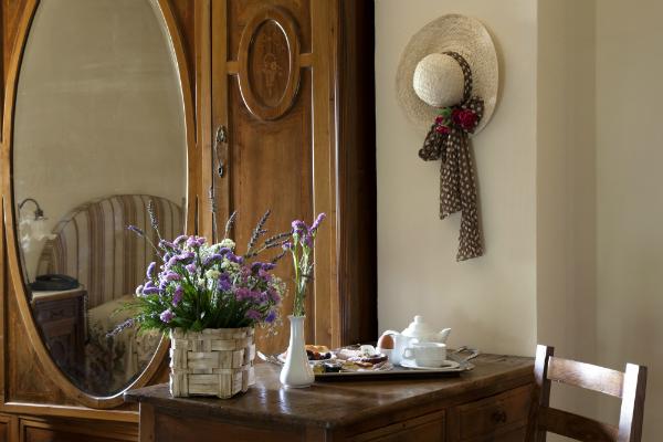 Lavendelpflanzen Wohnung Landhaus
