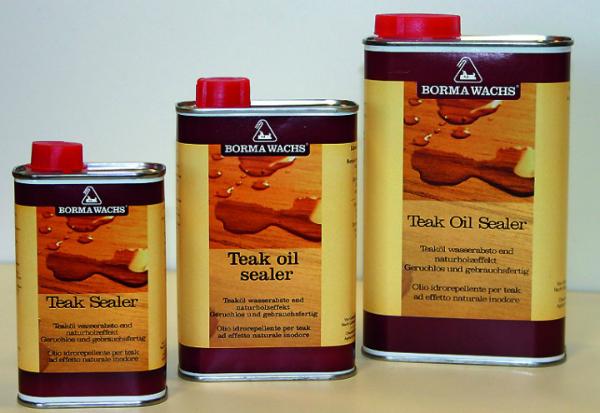 TEAK OIL SEALER - Wasserabstoßend Naturholzeffekt