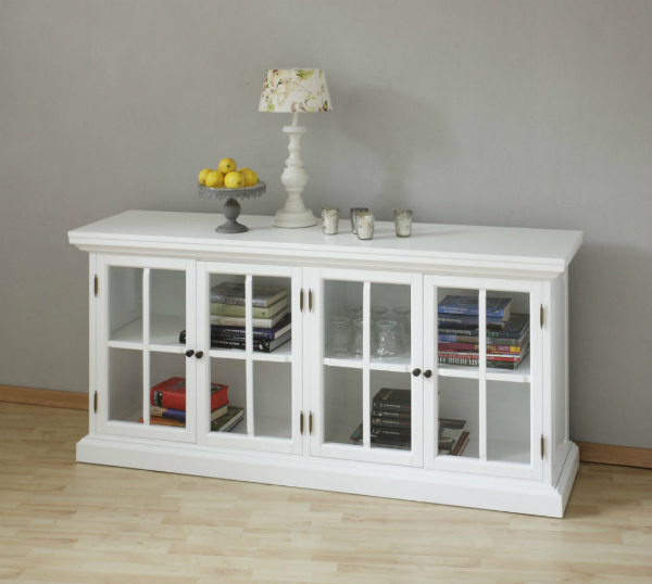 cleveland-160cm-lowboard-sideboard-weiss