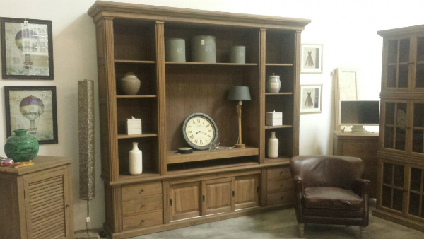 FLORIN TV-Schrank oak grey