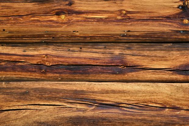 Maserung von Akazienholz