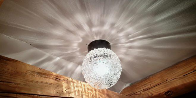 Flurlampe im Landhaus