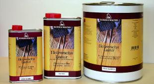 Borma Holzwachs Lasur - Antikbraun , für alte Schränke