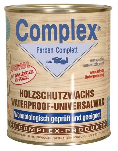 COMPLEX - Holzschutzwachs HU 005 - Holzschutzmittel gegen Fäulnis