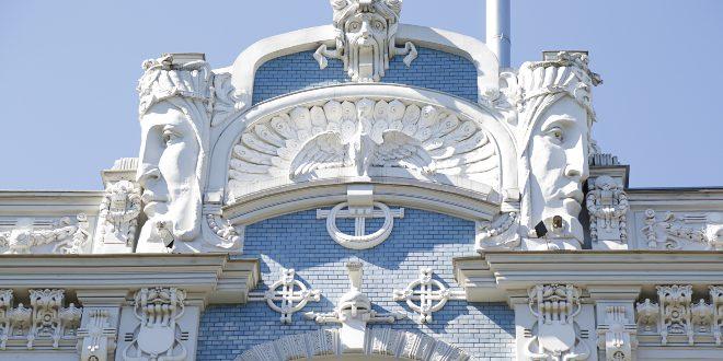 Jugendstil-Fassade - Art nouveau und Art déco