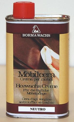 MOBILCERA - Flüssiges Holzwachs für die regelmässige Möbelpflege