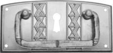 Griff messing patiniert
