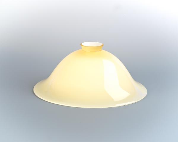 Glasschirm 38 Elfenbein