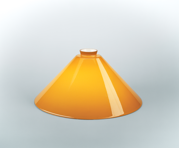 Glasschirm 89 Cognac
