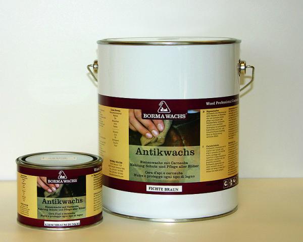 Borma Antikwachs - Antikbraun