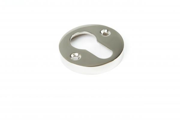 Schlüsselrosette PZ Nickel Glanz