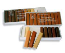 Weichwachsstangenkitt - verschiedene Farben