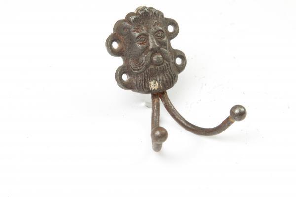 Garderobenhaken Eisen antik