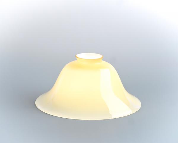 Glasschirm 22 Elfenbein