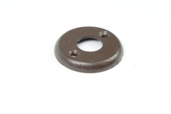 Drückerrosette Eisen antik