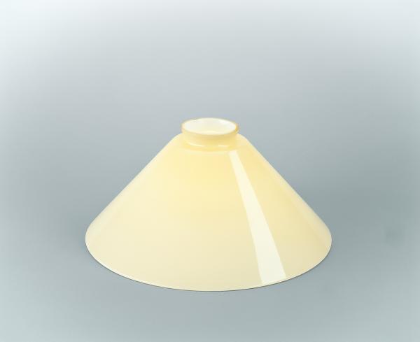 Glasschirm 25 Elfenbein