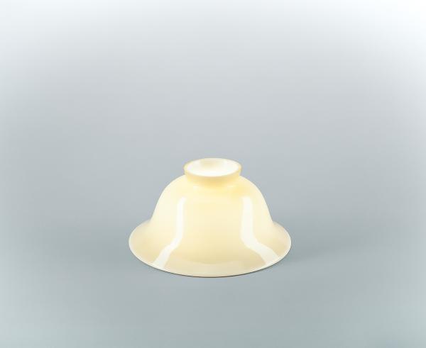 Glasschirm 11eb Elfenbein
