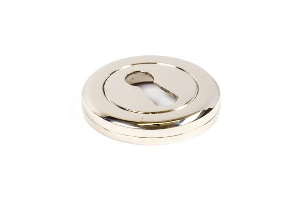 Schlüsselrosette BB Nickel Glanz