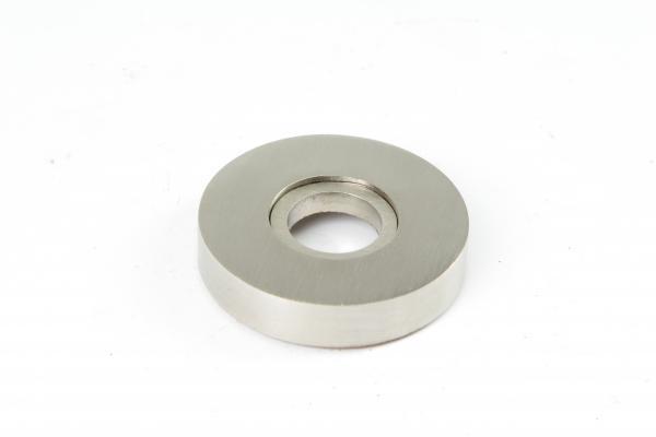 Drückerrosette Nickel matt