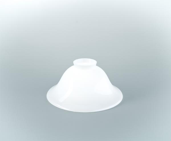 Glasschirm 21 Opalweiß