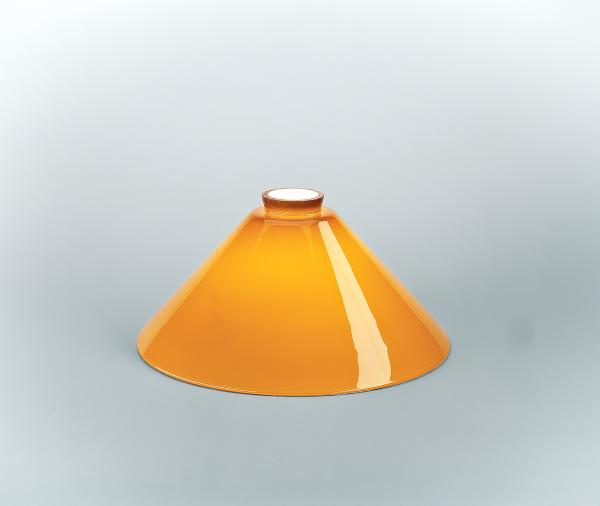 Glasschirm 70 Cognac